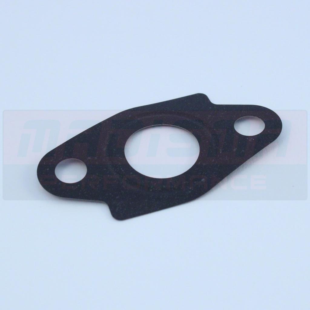 Oil engine to cooler gasket seal