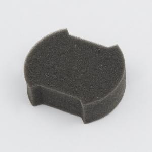 Applicator sponge for care of interior plastic trim