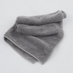 Microfibre cloth, bilateral, grey