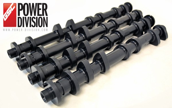 GSC Billet S3 camshaft set for Nissan VR38DETT GT-R